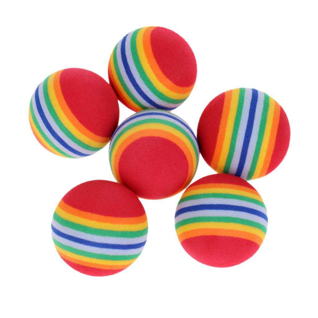 50 Buah Kuning Golf Rainbow Lampu Kolam Pelatihan Bola Spons Busa Source · Miracle Shining 6 Pieces Lightweight Soft Sponge Rainbow Indoor Practice Golf ...