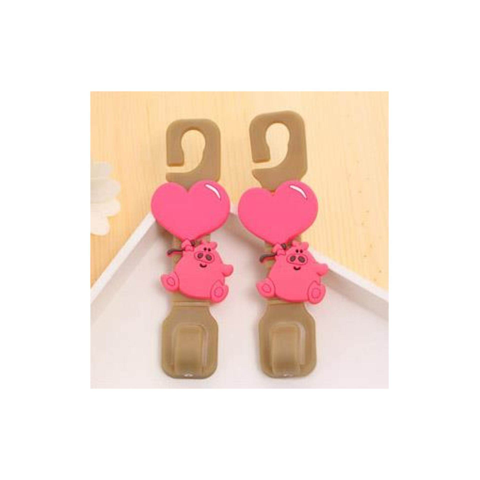 Cute Lovely Pinky Piglet Car Seat Hanger