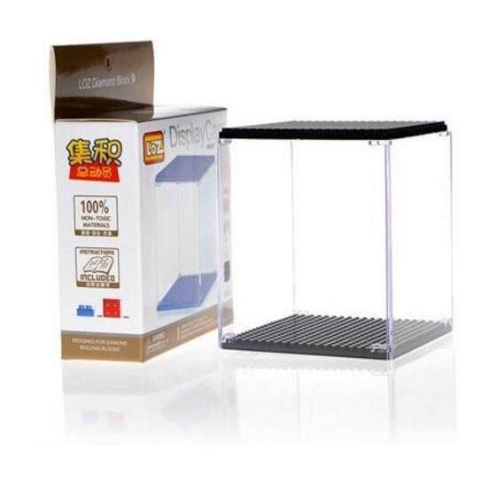 Loz Nano/Diamond Block Grey Base Display Case/Casing/Box[Nano-block/Nanoblocks Compatible][Birthday Gift]