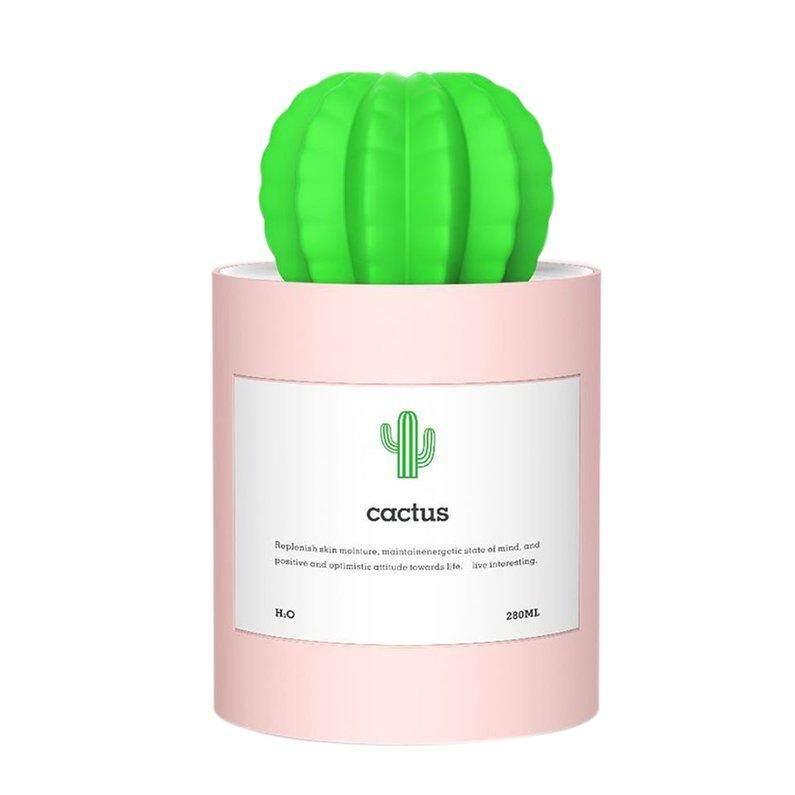 Diskon Besar Mini Kaktus Udara Humidifier Udara Portabel To Moil USB Pengisian Alat Pembuat Kabut