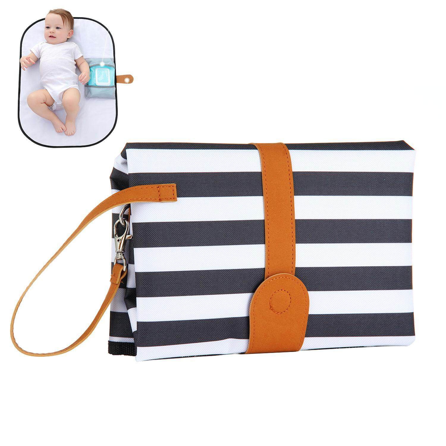 Aolvo Portable Changing Pad & Diaper Changing Station 2-In-1 Detachable Mat & Compact Bag The Stylish Diaper Clutch For Modern Moms - Intl By Aolvo.