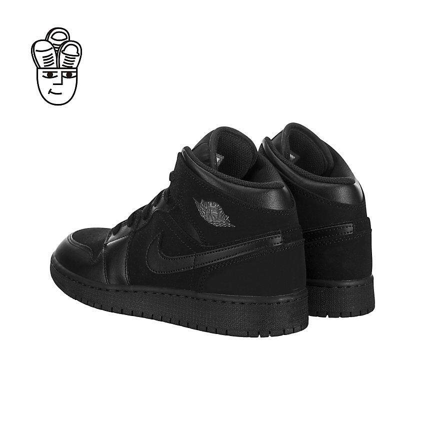 size 40 a061f 1f1f9 Air Jordan 1 Mid Retro Basketball Shoes Unisex 554725-050 -SH