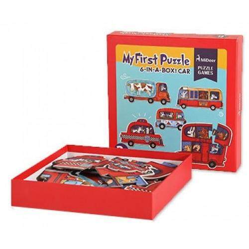 MiDeer My First Puzzle - Car toys for girls