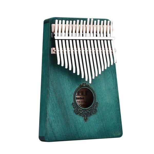 Kalimba Gỗ Gụ 17 Phím, Phi Ngón Đàn Piano Nhạc Cụ Gõ Bàn Phím Mini Có Bộ Thu/Không Có Bộ Thu
