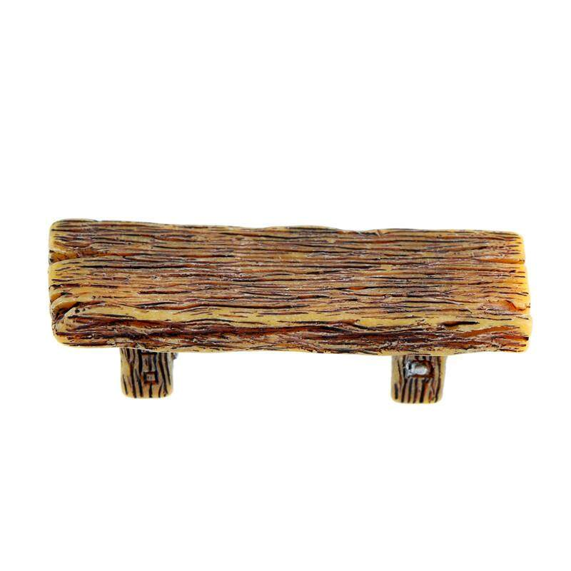 Veli shy Wooden Chair Stool For Couple Fairy Garden Miniatures Decor Action Figurine DIY Gift