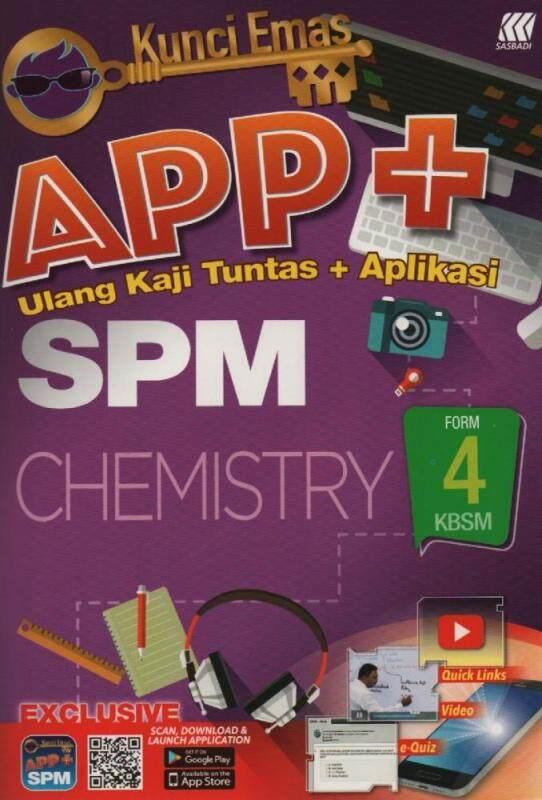 Sasbadi Kunci Emas APP+ SPM Chemistry Form 4 Malaysia