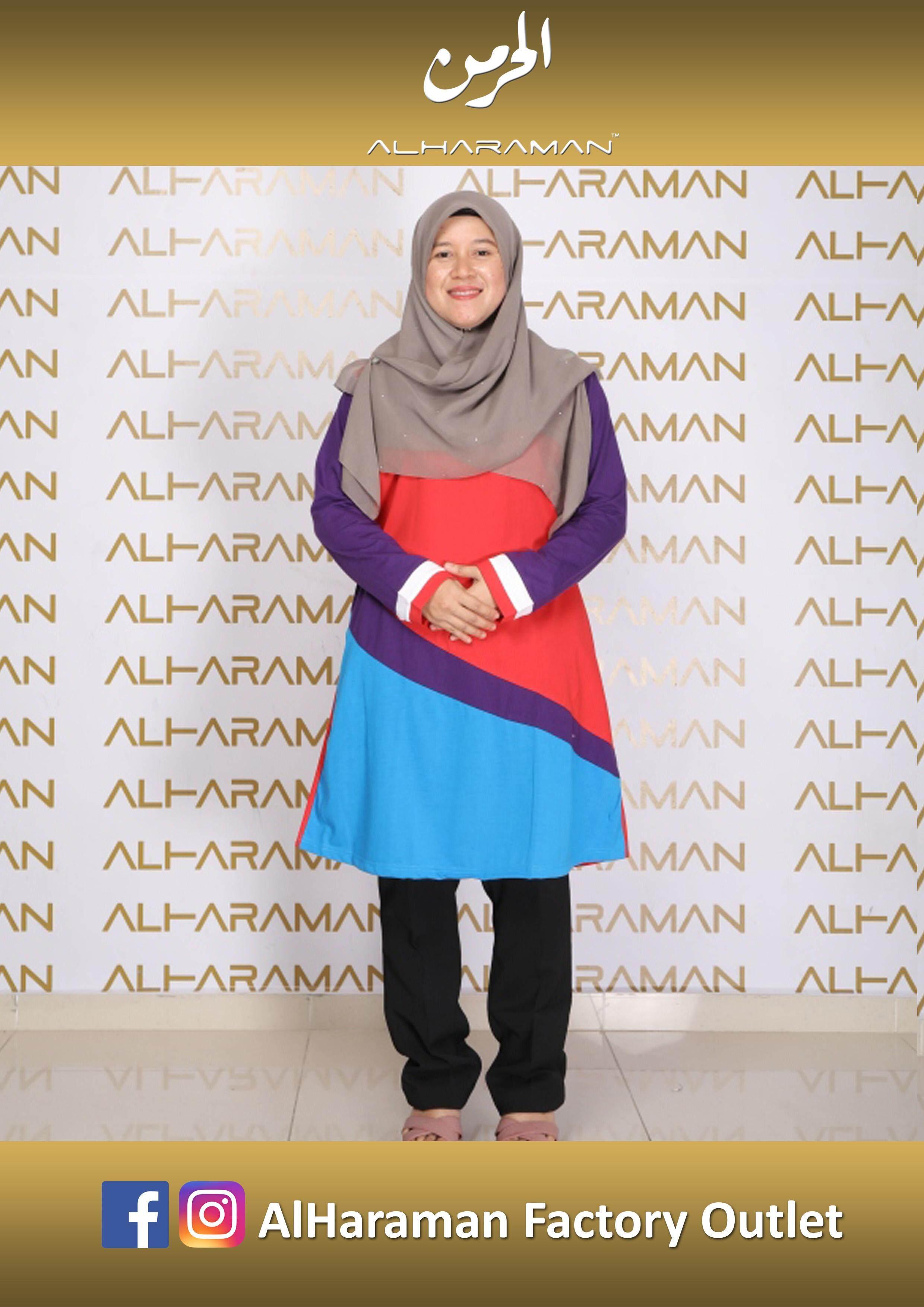 Al-Haraman Baju Muslimah Moden 5
