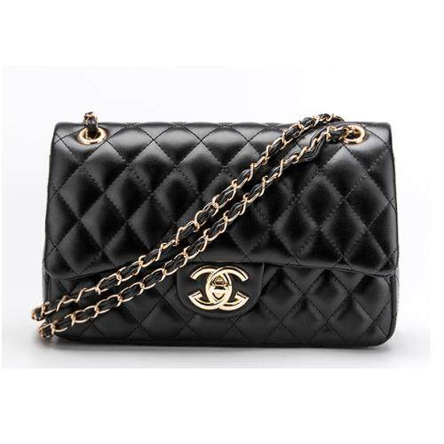 Bag.Society - European Design Ghanel Classic Flap Bag Quilted Chain Sling Bag Crossbody Bag