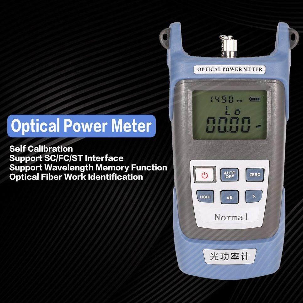 B-Hidup Handheld Fiber Optic FTTH Optical Power Meter Tester Kabel Jaringan-70 ~ + 20dBm