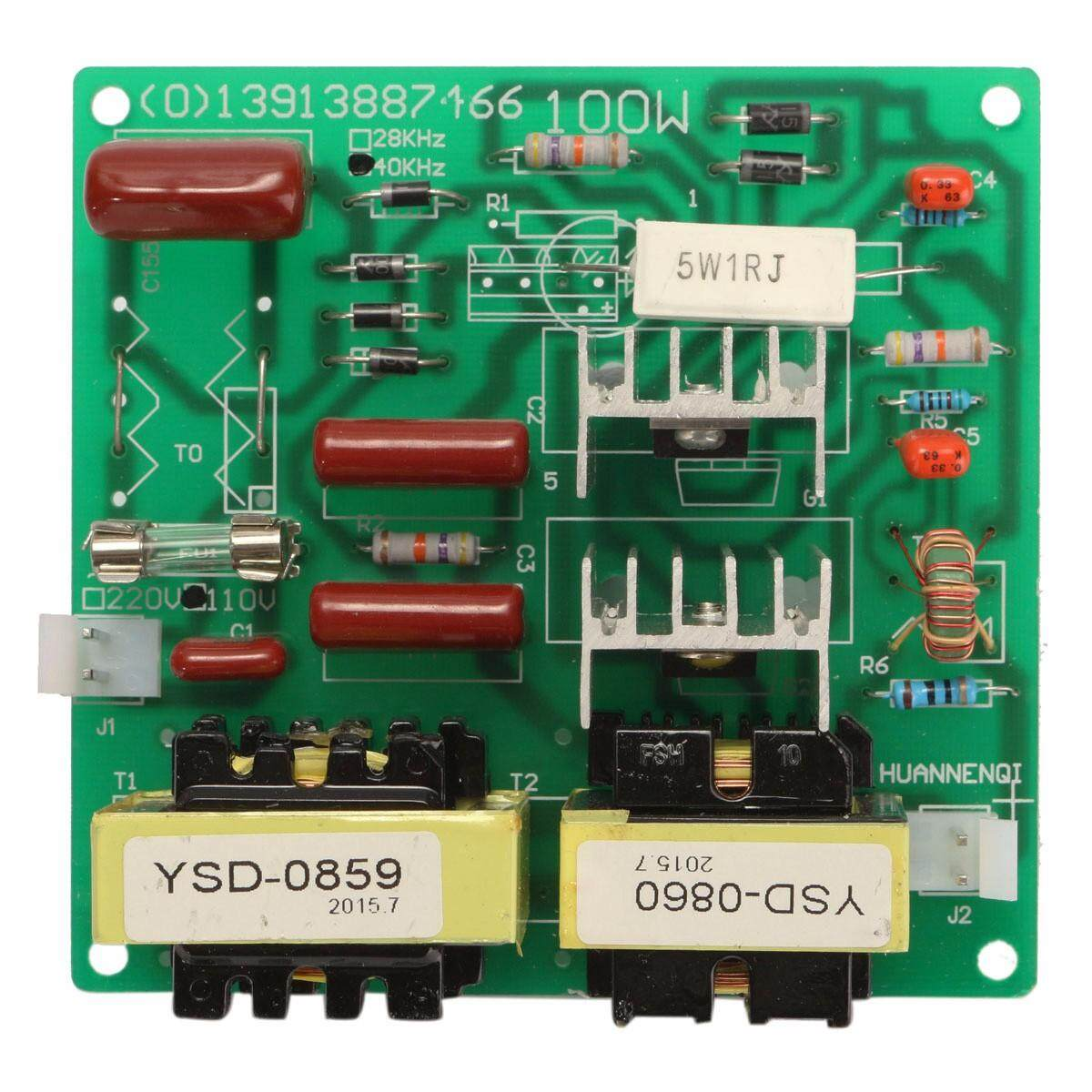 Features 110v 100w 40khz Ultrasonic Cleaner Power Driver Board With Transducerultrasonic Humidifier Piezoelectric Transducertransducer 60w Transducer 2