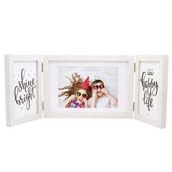 ถกทสดในวนน Sumgar White Picture Frame 5x7 And 4x6 Elegant