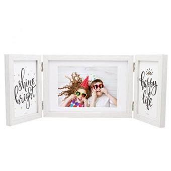 ถกทสดในวนน Sumgar White Picture Frame 5x7 And 4x6 Elegant