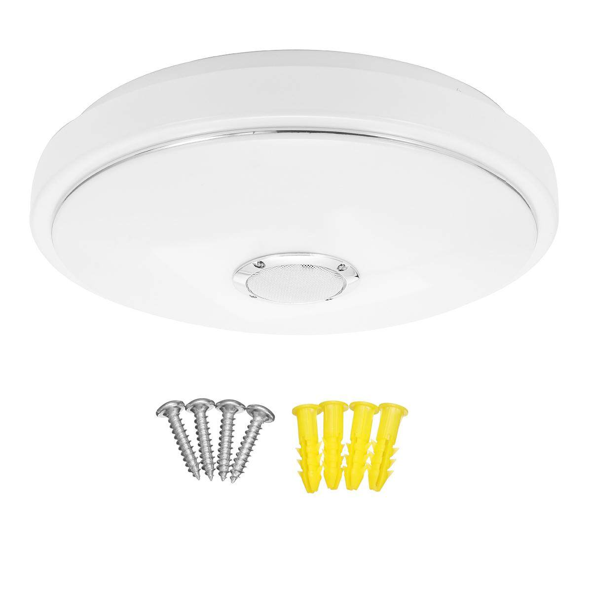Hình ảnh LE 24W Smart 15-Inch LED Music Ceiling Light+Bluetooth Speaker,Phone APP Control [Without remote control]