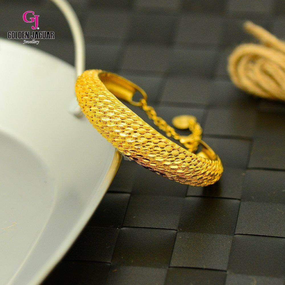 Emas Korea Golden Jaguar Bangle (GJJ-59685)