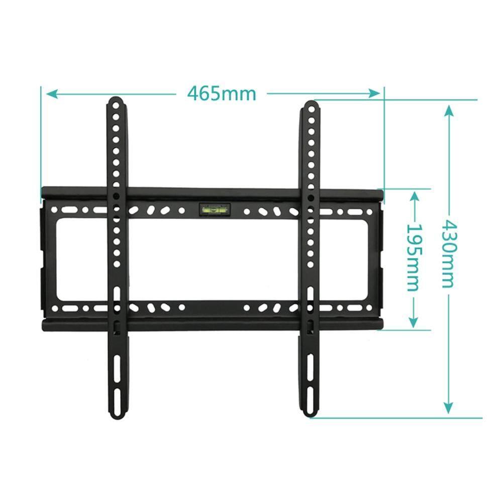 TV Dinding Penopang Pengait Paling 26-55 Inch LED, LCD dan TV Plasma, lebih Tinggi untuk VESA 400X400 Mm dan 100 LB/50Kg Memuat Kapasitas, Profil Rendah-Intl