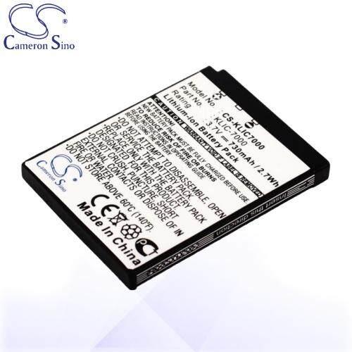 CameronSino Battery for Kodak KLIC-7000 / Kodak EasyShare LS755 Battery  730mah CA-KLIC7000
