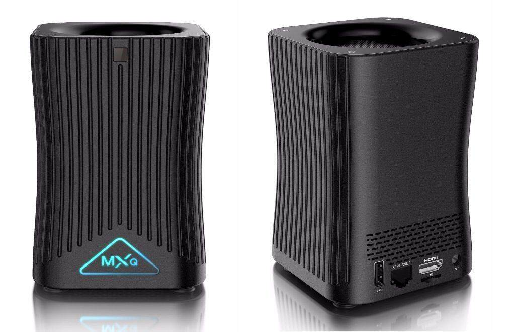 EBox MXQ HF10 Android IPTV Box with AI Speaker Function (1 Year Warranty)