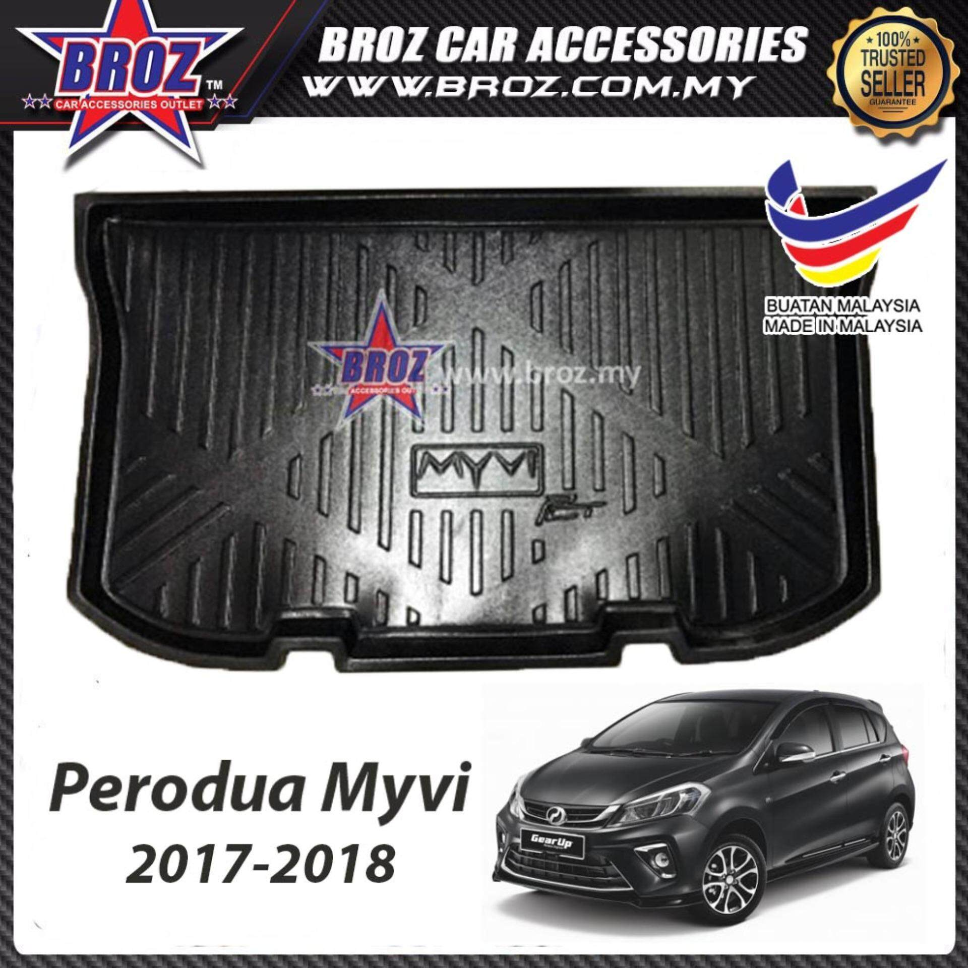 Perodua Myvi New 2018 ABS Car Rear Boot Trunk Tray