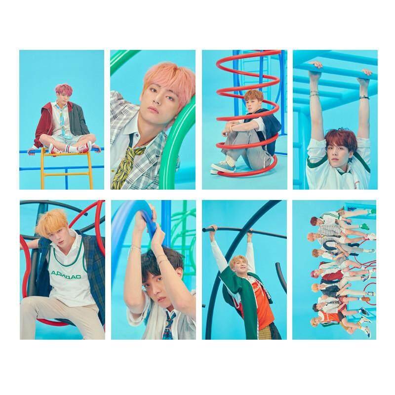 KPOP BTS Bangtan Boys LOVE YOURSELF Answer Album Transparent Photo Card PVC Cards Self Made LOMO