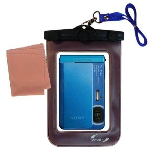 Outdoor Gomadic Wadah Penyimpanan Tahan Air Cocok untuk Sony Cybershot DSC-TX30 untuk Menggunakan Bawah Air-Membuat Perangkat Bersih dan Kering-Internasional