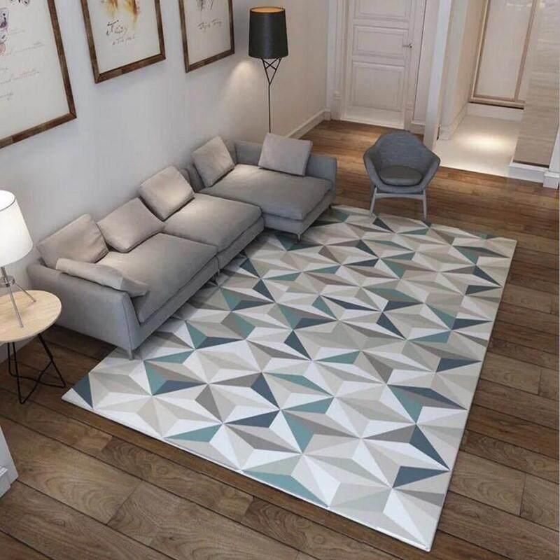 Large Anti-slip Living Room Tea Coffee Table Area Rug Washable Villa Baby Room Tatami Mat Decorative Wedding Floor Carpet 80x120cm - intl