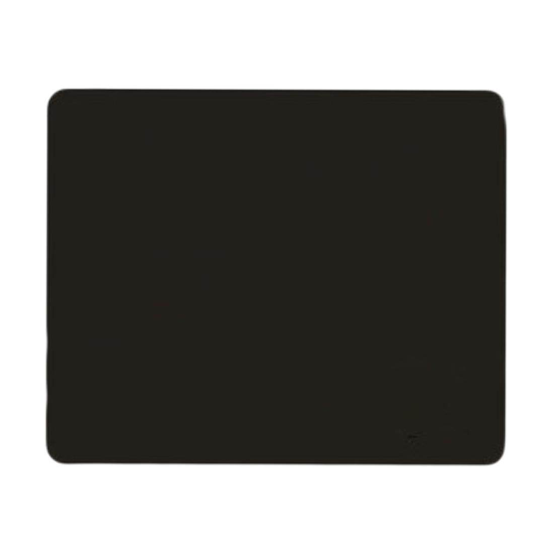 Black Slim Square Mat Mousepad For PC Optical Laser Mouse Trackball Mice - intl
