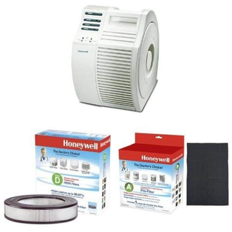 Honeywell 17000-S QuietCare True HEPA Air Purifier with Universal 11 Air Purifier Replacement filter & Universal Carbon Air Purifier Replacement Pre-Filter - intl Singapore