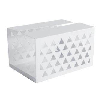 ล่าสุด BolehDeals Tissue Box Holder, Retangular Napkin Holder Paper Case Dispenser White S ราคาถูกที่สุด
