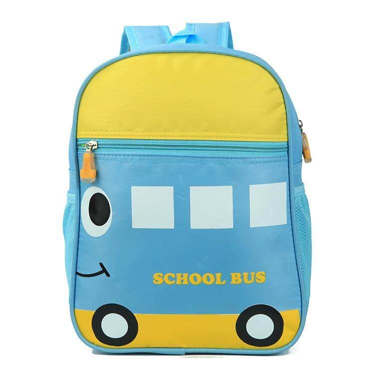 Kids Pre-School Backpack Back To School Kindergarten Backpack Cartoon Design Waterproof Material Backpack (school Bus) By Lee & Lee.