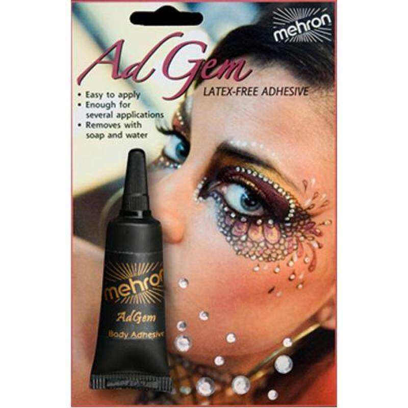 Buy mehron AdGem Latex Free Adhesive - w/12 Rhinestones Singapore