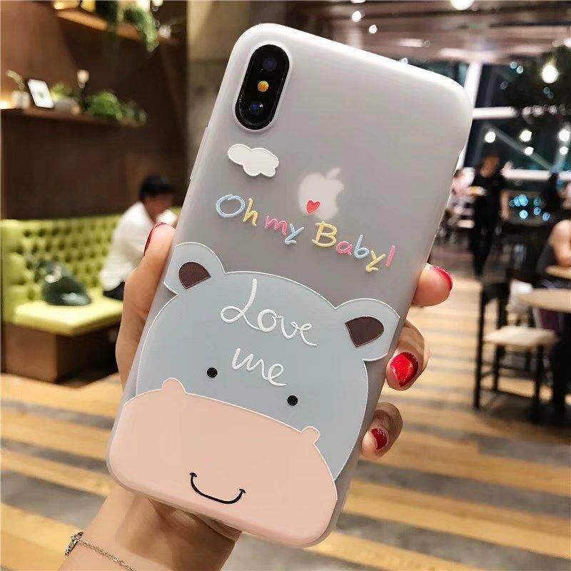 Apple x mobile phone shell iPhone Lucky Cat plus/splus Korean shattered temperament stars with the Hong Kong wind protection sets of lovers cute(Eight)