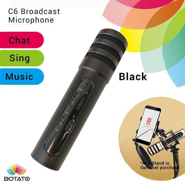 [[C6 Microphone]] Live Mic for Handphone Karaoke Singing [[Botato Electronic]]