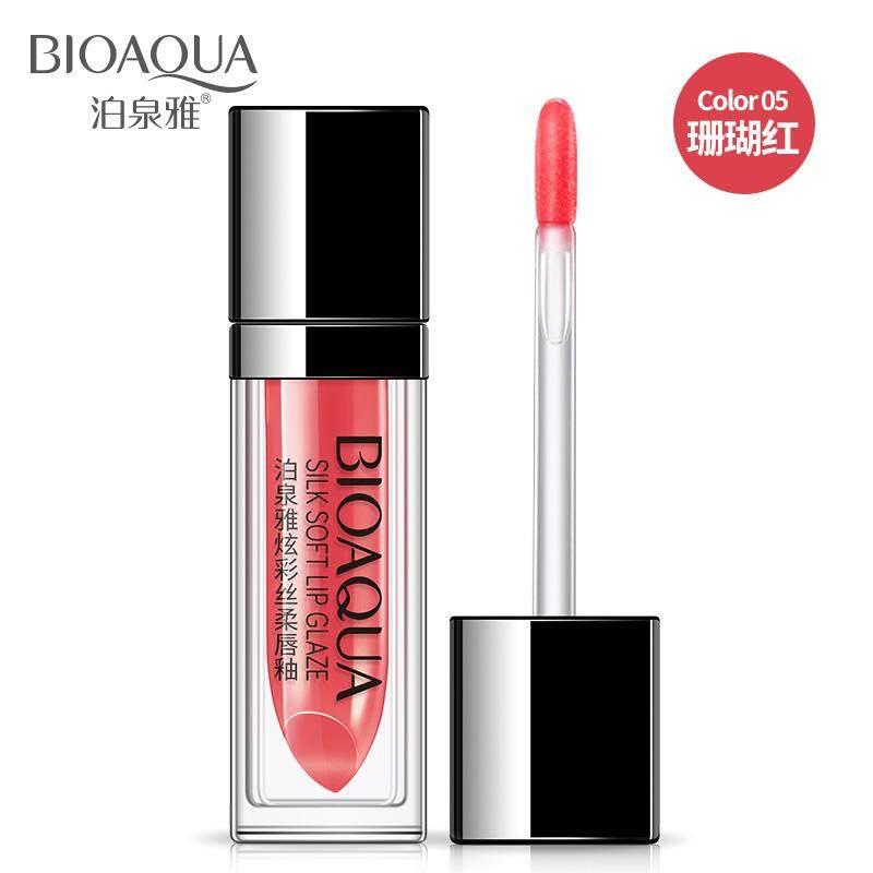 【 #05 Coral Red】lip Glasir Tidak Decolorize Melembapkan Tahan Lama Lipstick Cair Matte Pelembap Bibir Tahan Air Lucu Mahasiswa Model Non-Korea -Intl