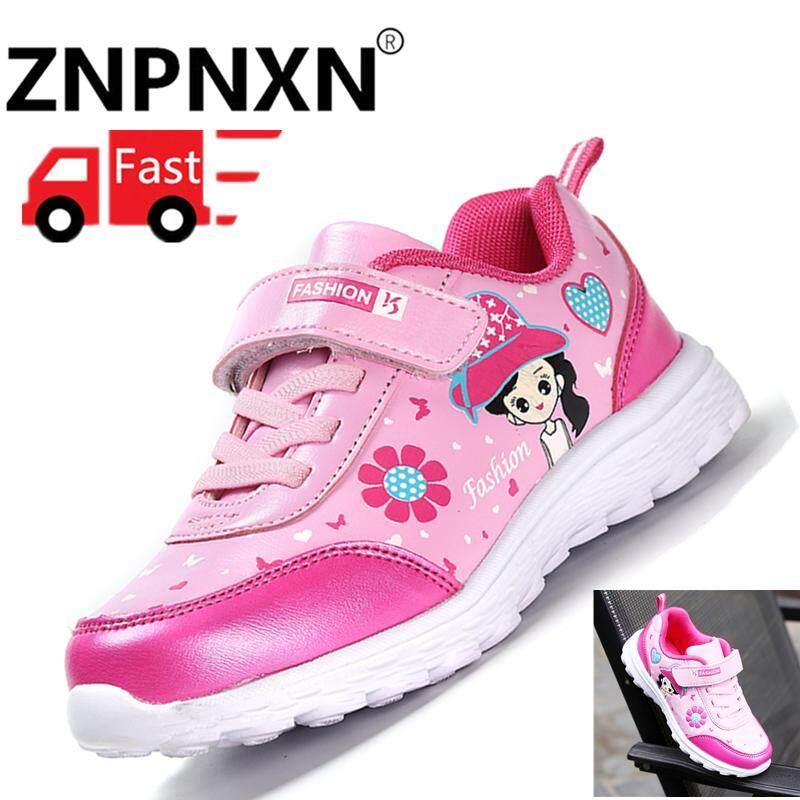 Giá bán ZNPNXN cỡ lỡn Giày Trẻ Em Giày Thể Thao GirlS Giày Nhẹ Giày sneaker thoáng khí Ngoài Trời Giày thường ngày Phim Hoạt Hình Giày Thể Thao Size 26-37