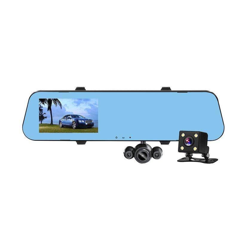 Befu HD Pro Dash Cam dengan GPS 2 K Super HD 16 GB Micro Sd Sopir Maju Bantuan
