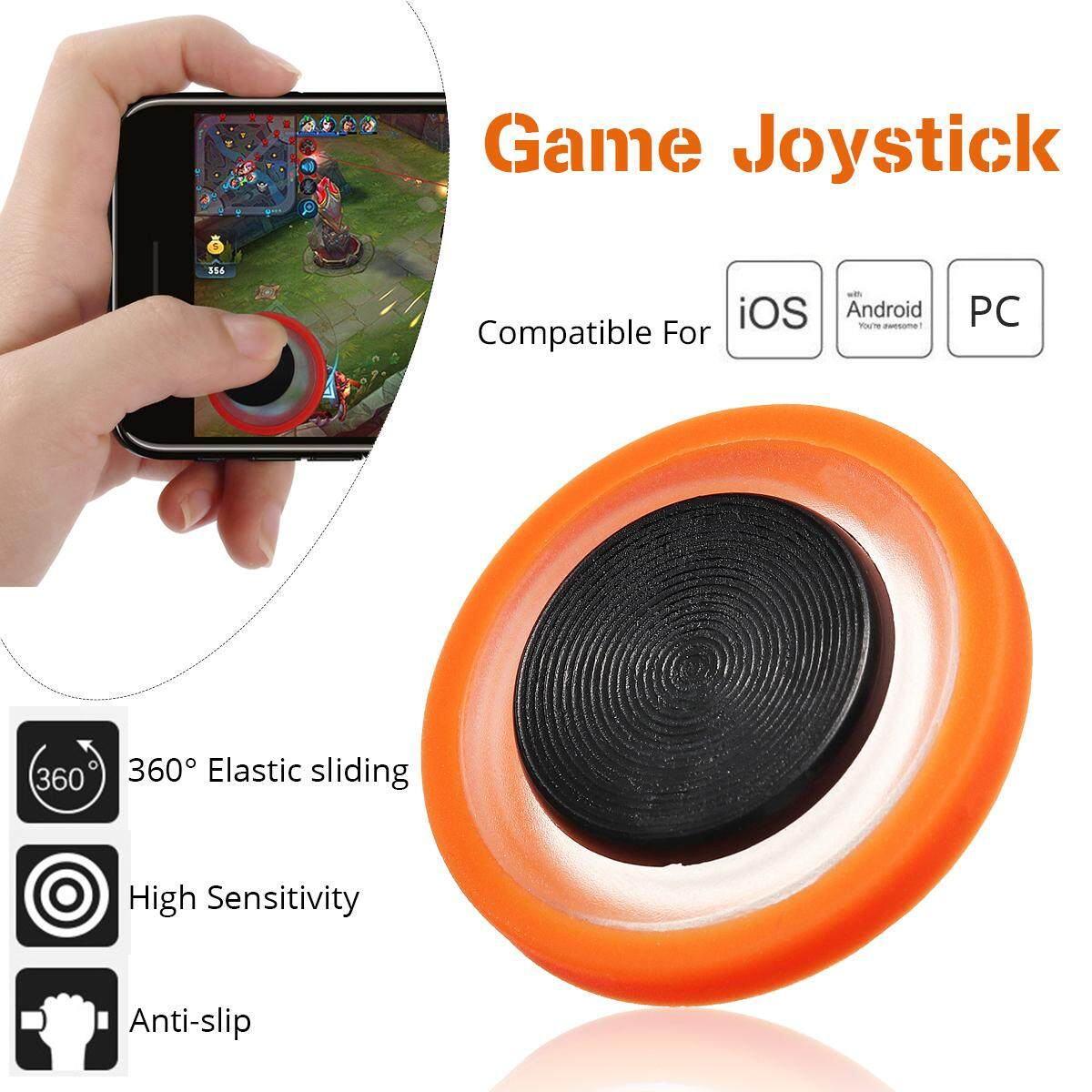 Mobile Phone Game Joystick Control Tool For Pubg Fornite Mobile Legends Fifa2018 By Elec Mall.