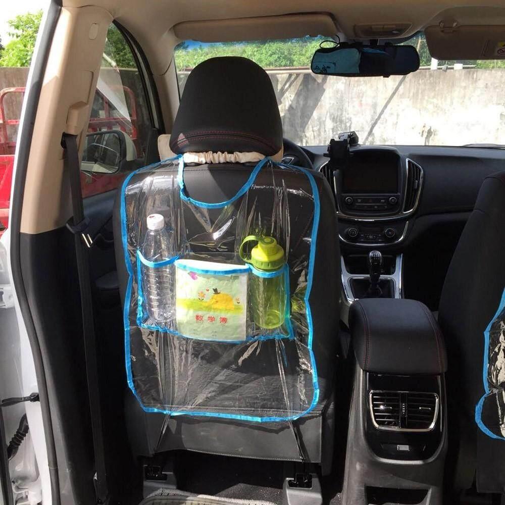 "1 PC Mobil Auto Seat Back Protector Cover Bandung Photo: ""Kick Mat Tas Penyimpanan BU-Intl"