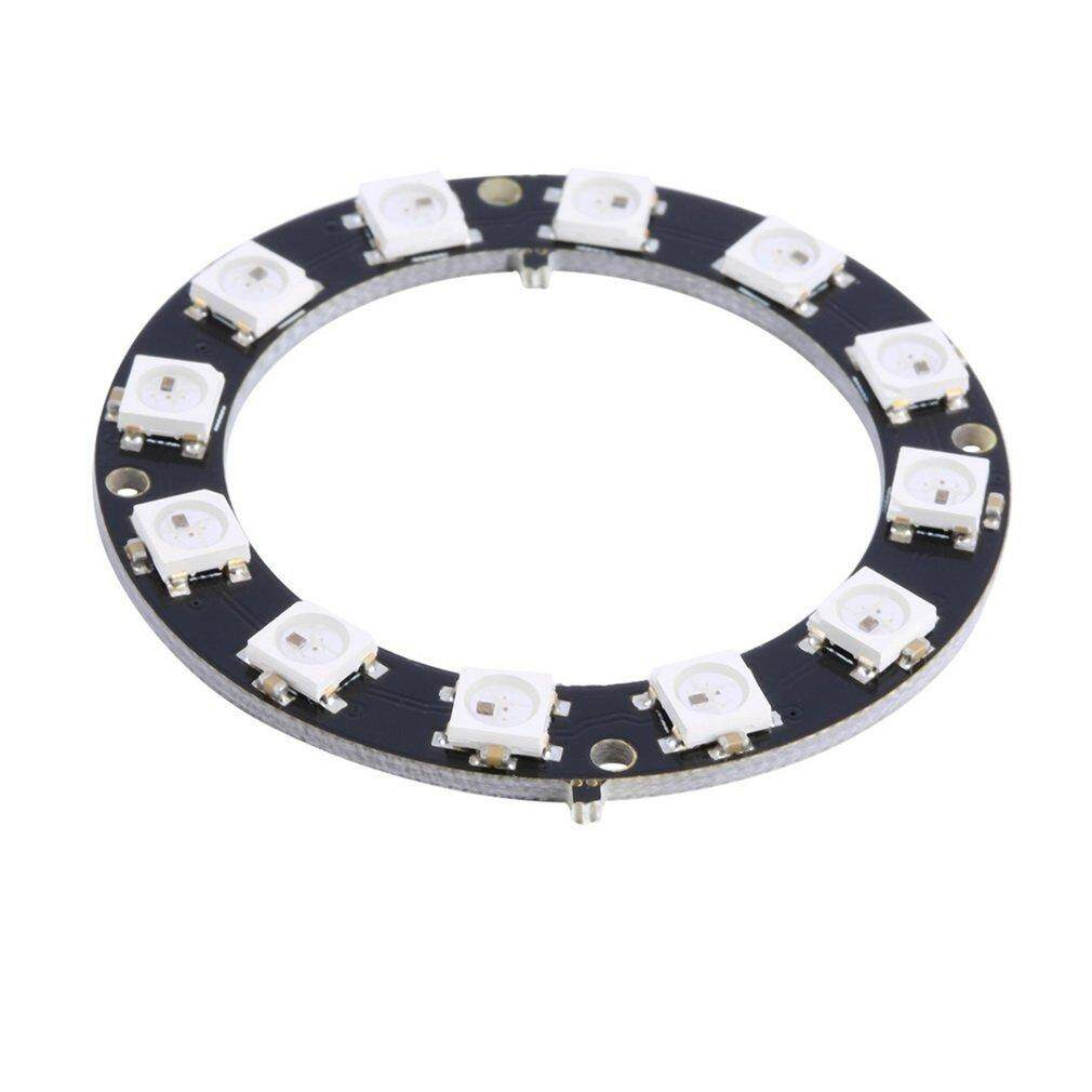 5050 12-Bit RGB LED Ring WS2812 Round Decoration Bulb Perfect For Arduino