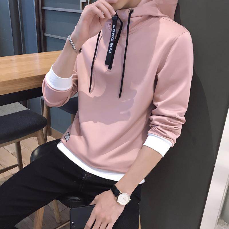 e44292d894b7b Sweater man Korean Style Trend Students Loose Hong Kong Style BF Men Spring  And Autumn Hooded