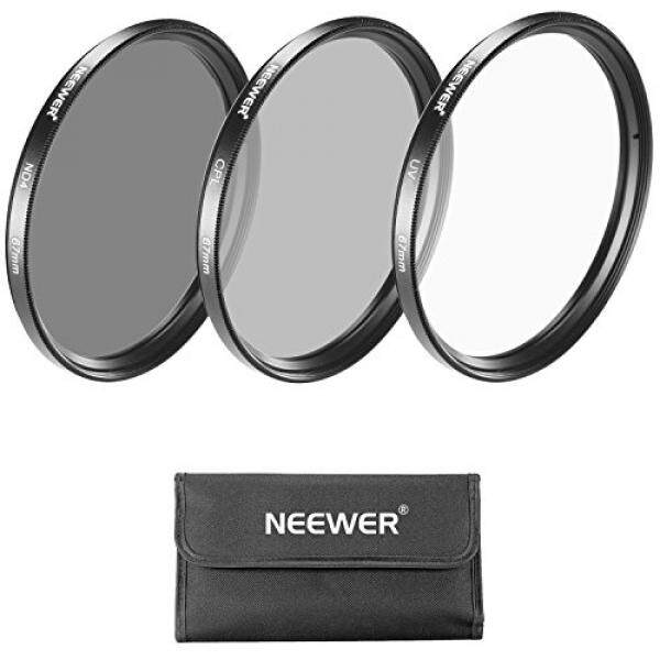 Neewer 67MM Lens Filter Kit for Canon Rebel with EOS 18-135mm EF-S IS STM Zoom Lens,Nikon 18-105mm f/3.5-5.6 AF-S DX VR ED Zoom Lens