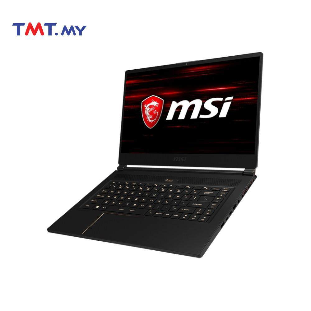 MSI GS65 8RE-099MY (Stealth Thin) Gaming Laptop  i7-8750H  16GB  512GB SSD  15.6FHD  NVD GTX1060 6GB  W10 Malaysia