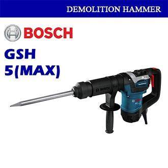 Bosch Demolition Hammer Gsh 5 (sds Max) Professional By Bann Edar.