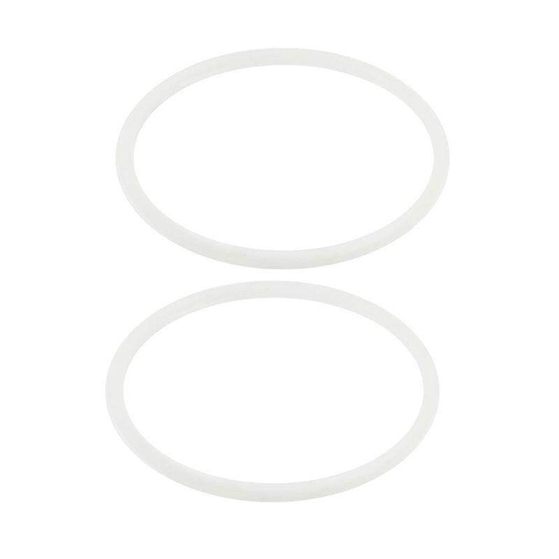 2 Pcs Rubber Gasket Seal Ring 20cm Inner Dia For 4l Pressure Cooker.
