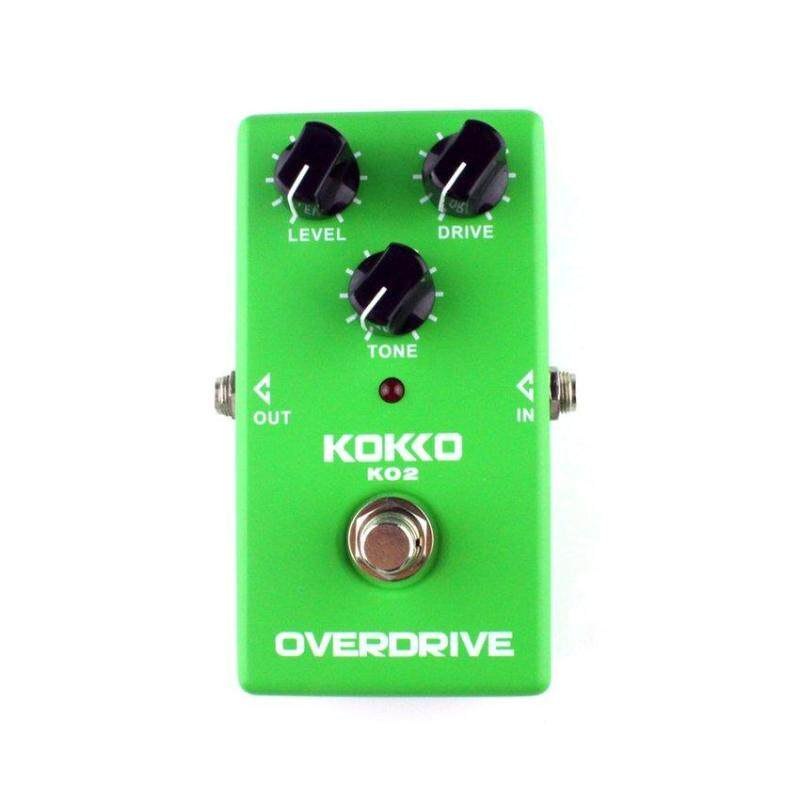 LGDS KOKKO KO2 Overdrive Effect Pedal for Guitar and Bass Durable Processor