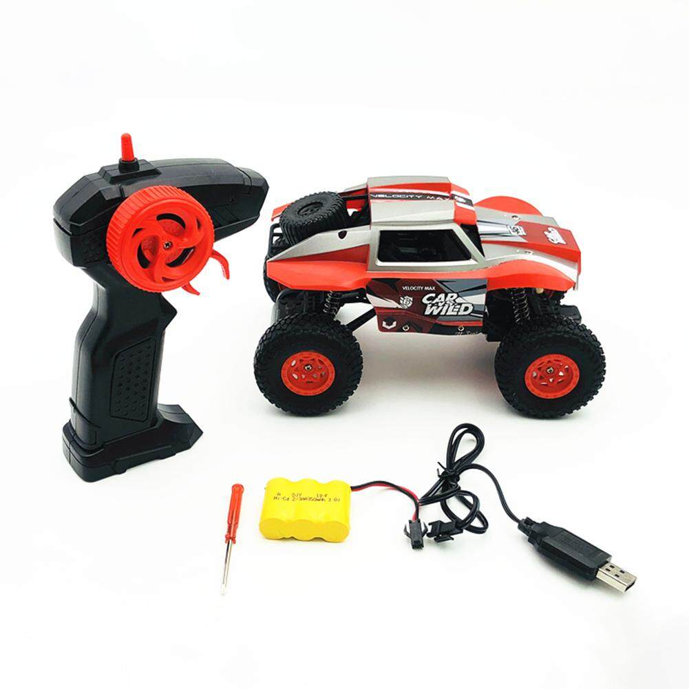 LumiParty Children Kids 1:20 Remote Control 2.4G Rock Crawlers Driving Car Bigfoot Car