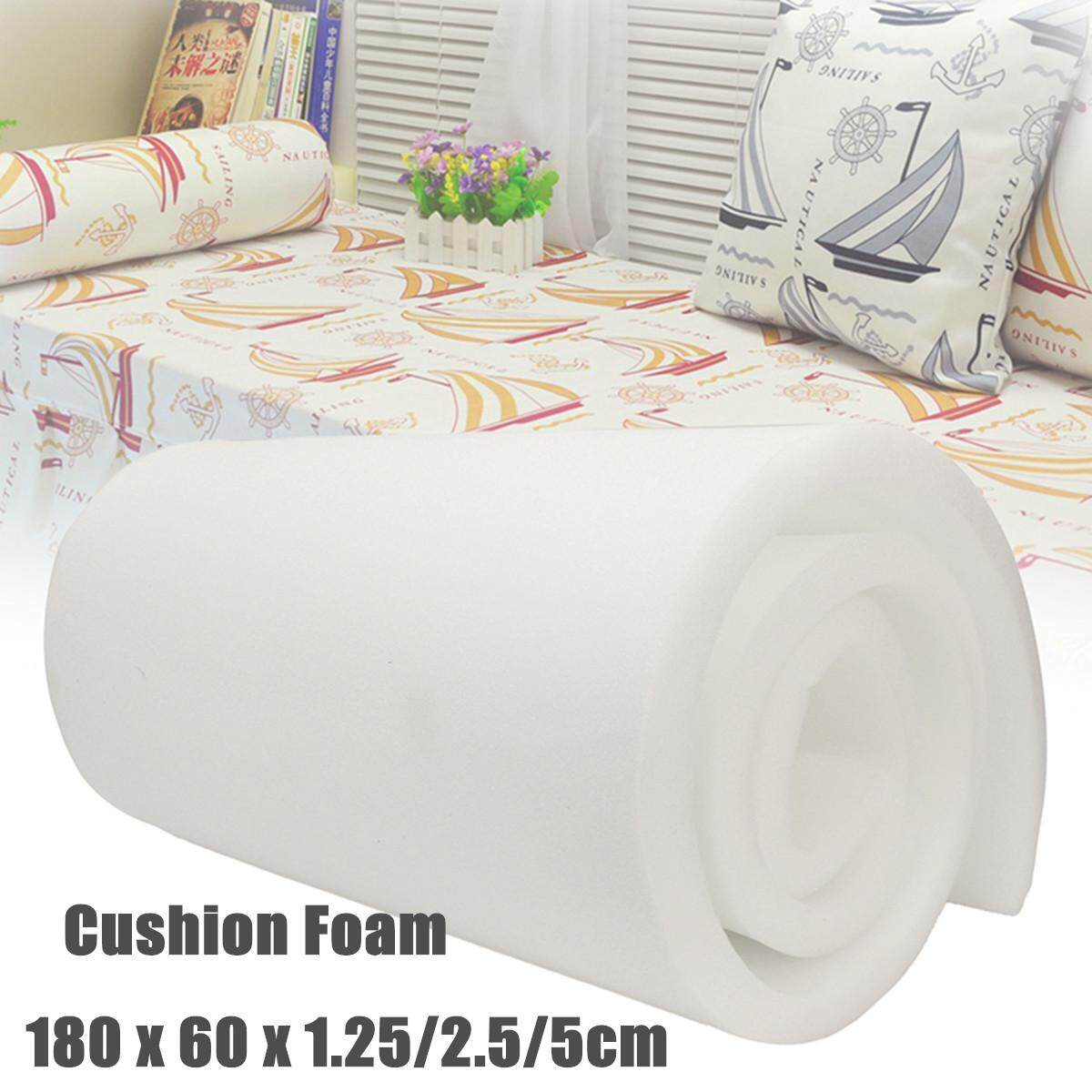High Density Upholstery Foam Seat Cushion Replacement - 24 X 72  1.25cm By Moonbeam.