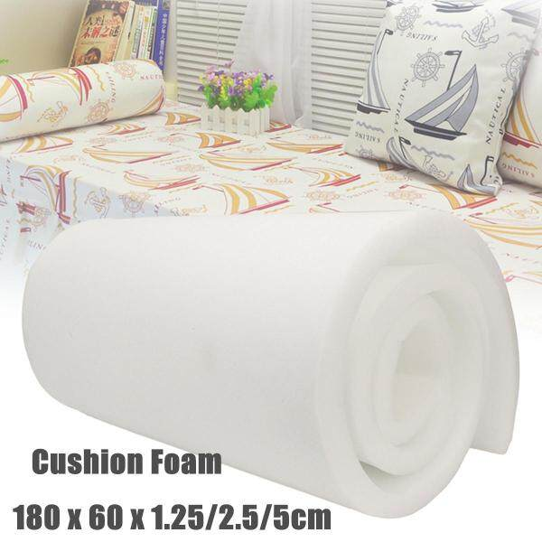 High Density Upholstery Foam Seat Cushion Replacement - 24 x 72 # 1.25cm