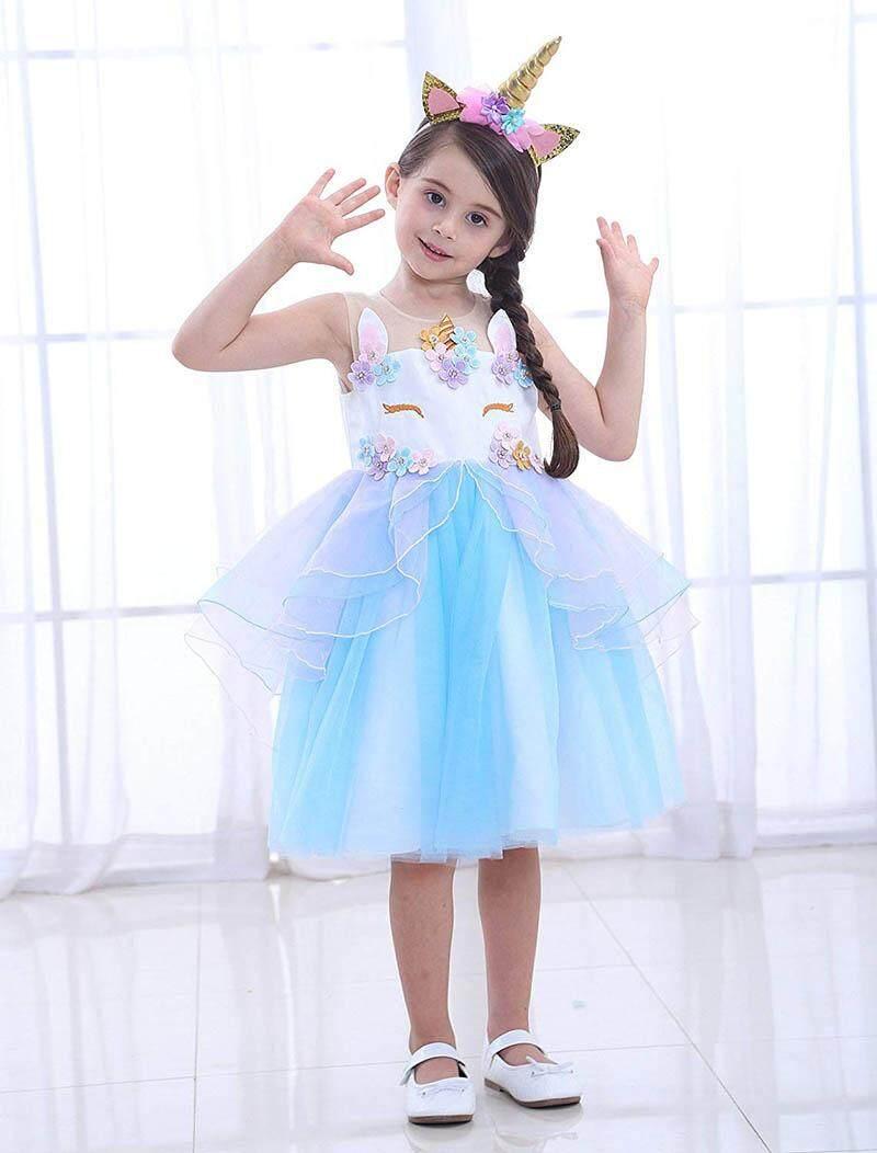 Gaun Putri Rok Terusan (Merah Muda. Source · Gadis Unicorn Baju .