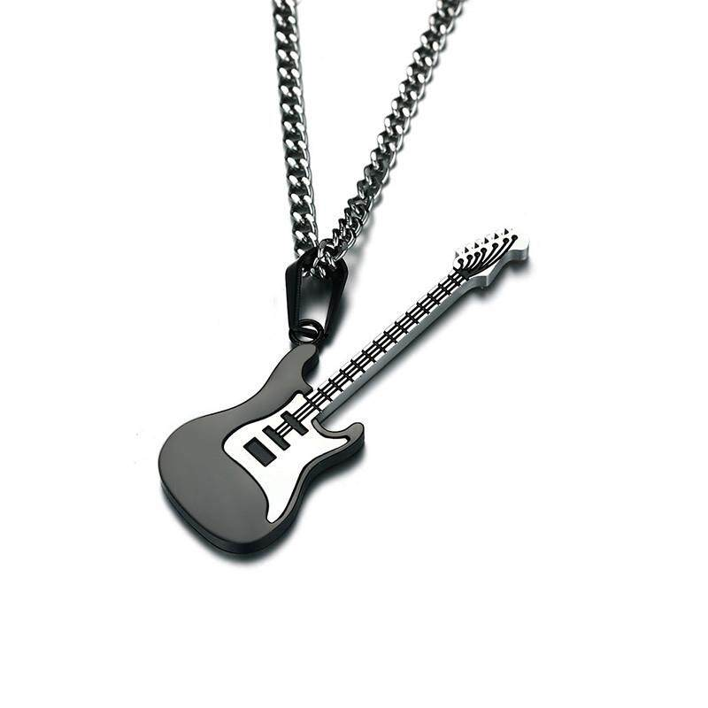 Kayu Bandul Kalung Punk Rock Perhiasan Musik. Source · Classic Men's Necklace .