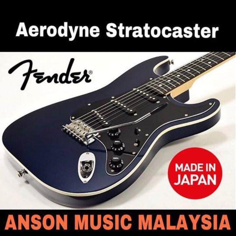 Fender Japan Exclusive Aerodyne Stratocaster, Gun Metal Blue Malaysia
